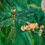 """Dragonfly Painting"" by originalartbyroxie"