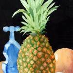 """Pineapple Still Life"" by margo"