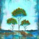 """Blessings Trees From Original Painting"" by Itaya"