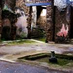 """Pompeii - Inner court of ancient Pompeiian house"" by arttraveler"