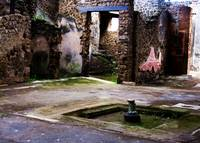 Pompeii - Inner court of ancient Pompeiian house