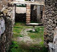 Pompeii - Entrance to an ancient courtyard