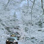 """Jeep Cherokee Winter Trail"" by D_Ruck_Imaging"