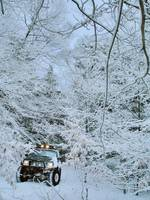 Jeep Cherokee Winter Trail