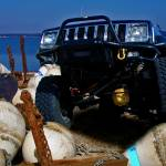 """Jeep Crawls on Buoys"" by D_Ruck_Imaging"