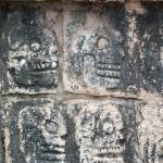 """Images of Skulls - Chichen Itza"" by liadona"