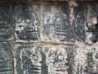 Images of Skulls - Chichen Itza