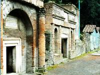 The Ruins of Pompeii - Necropolis, Pompeii