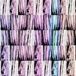 """Bamboo Horizontal variation pinks and lavenders"" by LeslieTillmann"