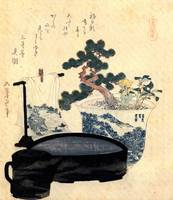 Hokusai A Lacquered Wash Basin