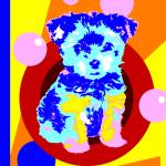 """Pop Art Puppy"" by victoriasponge"