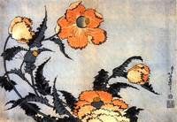 Hokusai Poppies