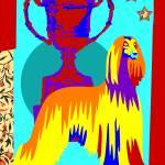 """Pop Art Afgan"" by victoriasponge"