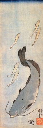 Kuniyoshi Catfish 1
