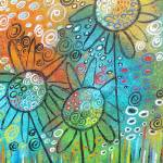 """Fanciful Flowers"" by juliryan"