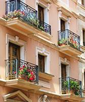 Italy - Romantic Flower Filled Balconies