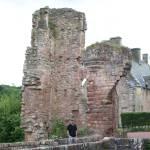 """""""Old ruin near Rosslyn Chapel"""" by Samme"""