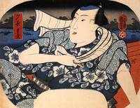 Kuniyoshi Man on a Boat