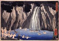 Kuniyoshi Pilgrims in the Waterfall