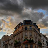 """Corner Building in Paris"" by Steven Lin"