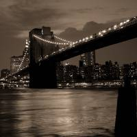 Brooklyn Bridge New York Art Prints & Posters by Alexander Hafemann