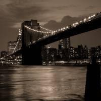 Brooklyn Bridge New York Art Prints & Posters by Alexander Hafemann