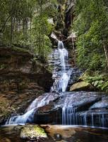 Empress Falls - (Wentworth Falls) Blue Mountains N