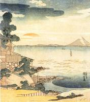 Kuniyoshi View of Mt Fuji 4