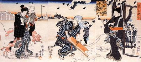 Kuniyoshi Winter