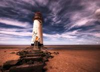 Talacre Lighthouse 2265 HDR