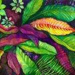 """Jungle Floral"" by laurenmcmullen"