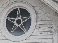 Country Church Star Window