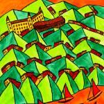 """Abstract Bratislava"" by Aurelie"