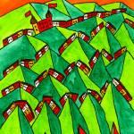"""Abstract Geneva"" by Aurelie"