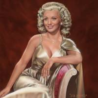 Carole Landis Art Prints & Posters by Dick Bobnick