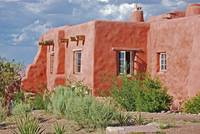 clay adobe house