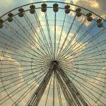 """Ferris wheel at the Tuileries, Paris, France"" by leicafan"