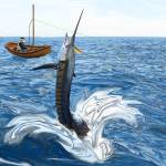 """Old man and the Sailfish"" by RalphMartens"