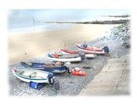 Fishing boats at Sheringham