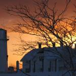 """Chatham Lighthouse at Sunset"" by capecodcb"