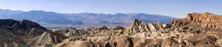 Zabriskie Point Panorama - Death Valley
