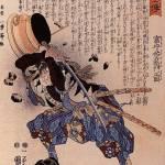 """""""Tomimori Sukeemon Masakata Dodging a Brazier"""" by ArtLoversOnline"""