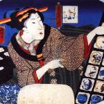 """Woman Selling Decorative Bowls"" by ArtLoversOnline"