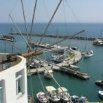 """Vlichada marina, Santorini"" by portrahere"