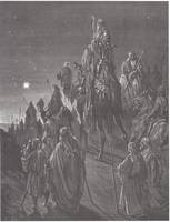 The Wise Men Guided by the Star
