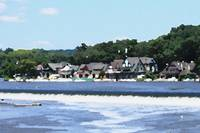 Boathouse Row (Palette Knife)