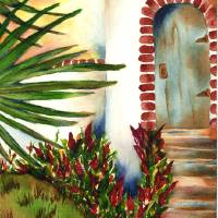 """Door to Tranquility"" by Gayela Chapman"