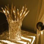 """""""Vase with wheat redux"""" by nostalgiawest"""