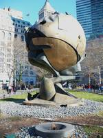 World Trade Center Globe Memorial