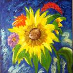 """""""Sunflowers3"""" by magnoliadorn"""